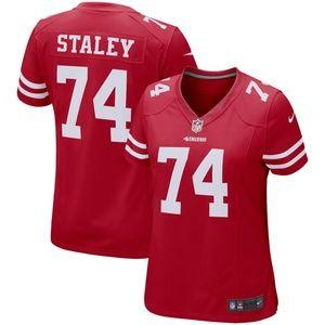 Women's San Francisco 49ers Joe Staley Jersey